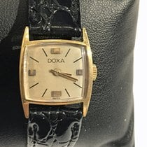 Doxa Yellow gold 18mm Manual winding pre-owned