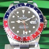 Rolex GMT-Master II Ref. 16710BLRO Pepsi/Stick Dial/NOS /Cal.3186