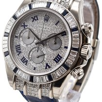 Rolex 116599-PVEDRDBLUL Daytona Cosmograph in White Gold with...