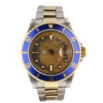 Rolex Submariner  Patina Look 16803 Very Good Condition Mens...