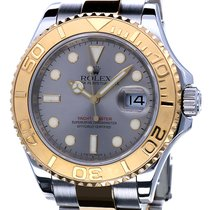 Rolex Oyster Yacht-Master Gold Steel Grey Dial 40 mm (Full Set)