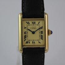 Cartier Tank Vermeil 925 Silber Vergoldet #1024