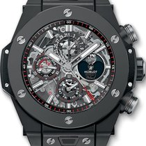 Hublot Big Bang Unico 406.CI.0170.RX Sehr gut Keramik 45mm Automatik