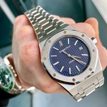 Audemars Piguet Royal Oak Selfwinding Steel 39mm Blue United States of America, Texas, Houston