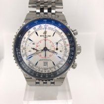 Breitling Steel Automatic No numerals 47mm pre-owned Montbrillant Légende