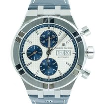 Maurice Lacroix Chronograph 44mm Automatic new AIKON Silver