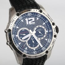 Chopard Superfast tweedehands 45mm Zwart Chronograaf Datum Rubber