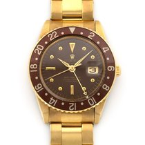 Rolex 1675 Yellow gold 1960 GMT-Master 39mm pre-owned United States of America, California, Beverly Hills