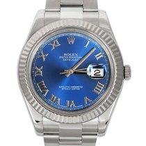 Rolex Datejust II Steel 41mm Blue Roman numerals United Kingdom, London