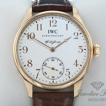 IWC Portuguese Hand-Wound Ouro rosa 43mm Branco Árabes