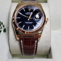 Rolex Datejust 116138 Very good Yellow gold 36mm Automatic United States of America, New York, New York