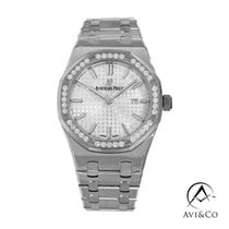 Audemars Piguet Royal Oak Lady Steel 33mm White No numerals