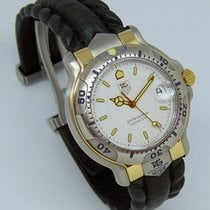 TAG Heuer 6000 Gold/Steel 39mm White