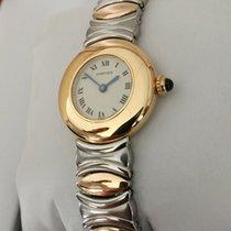 Cartier Baignoire Ronde Yellow Gold 18 krt / Bracelet Gold Steel