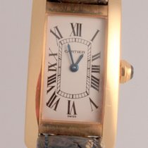 Cartier Tank Américaine Yellow gold 19mm Roman numerals