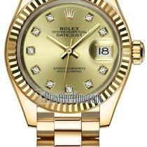 Rolex Lady-Datejust Unworn Yellow gold 28mm Automatic