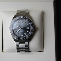 TAG Heuer Formula 1 Calibre 5 Steel 43mm Grey No numerals