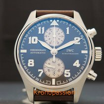 IWC Pilot Spitfire Chronograph Steel 43mm Brown Arabic numerals United States of America, Florida, Boca Raton