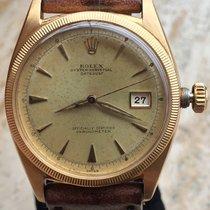 Rolex Datejust 6305 Ovettone Bubble Back OCC Swiss Yellow Gold