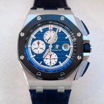 Audemars Piguet Royal Oak Offshore Chronograph Platinum 44mm Blue