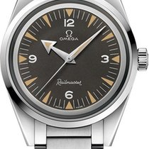 Omega Railmaster 38MM Trilogy Automatic Men's Watch...