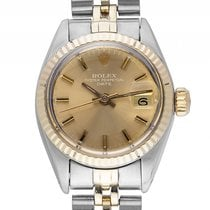 Rolex Oyster Perpetual Lady Date Stahl 18kt Gelbgold Automatik...