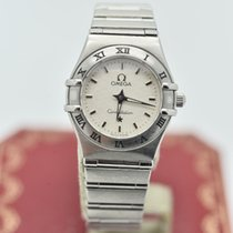 Omega Constellation Ladies Silver Dial Stainless Steel 24mm...