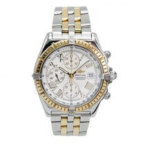 Breitling Crosswind Chronograph Stahl / Gold D13355