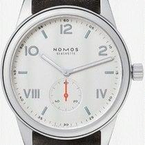 NOMOS Club Campus Acier 38,5mm Blanc Arabes