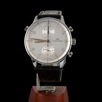 IWC Portuguese Chronograph Acero 41mm Gris Arábigos España, Madrid