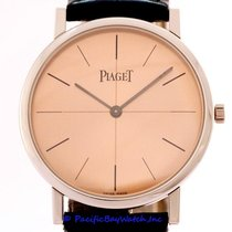 Piaget Platinum Manual winding Pink 34mm pre-owned Altiplano