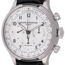 Baume & Mercier Capeland Steel 44mm Silver Arabic numerals United States of America, Texas, Austin