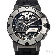 Harry Winston Chronograph 44mm Automatic pre-owned Ocean Black