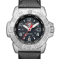 Luminox XS.3251 LUMINOX SEA SERIES Navy Steel Nero Pelle 45mm nowość