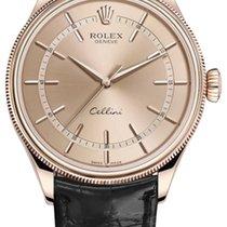 Rolex Cellini Time Rózsaarany 39mm Pink