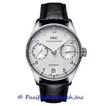IWC Portuguese Automatic Platinum 43mm Silver Arabic numerals United States of America, California, Newport Beach