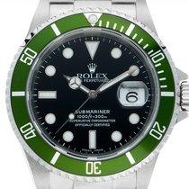 Rolex 16610 LV Stahl Submariner Date 40mm