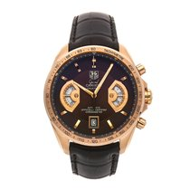 TAG Heuer Or rose Chronographe Remontage automatique 43mm Grand Carrera