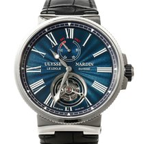 Ulysse Nardin Marine Tourbillon Steel 43mm Blue United States of America, Texas, Houston