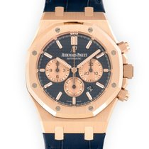 Audemars Piguet Royal Oak Chronograph Red gold 41mm Blue United States of America, California, Beverly Hills