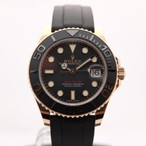 Rolex Yacht-Master 37 Rose gold 37mm Black Canada, Montreal