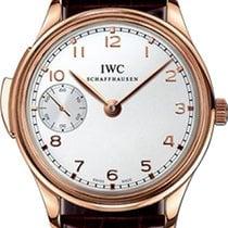 IWC Portuguese Minute Repeater Oro rosa 43mm Plata Arábigos