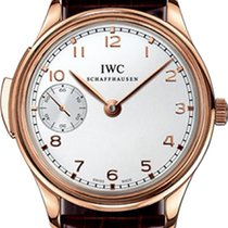IWC Portugieser Minute Repeater Roségold 43mm Silber Arabisch