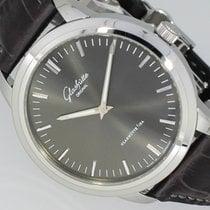 Glashütte Original Senator Automatic pre-owned 40mm Grey Leather