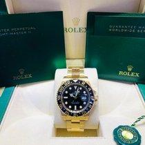 Rolex GMT-Master II Sarı altın 40mm Siyah Sayılar yok Türkiye, İstanbul