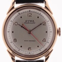 Cyma Aur roz Atomat Argint Arabic 34mm nou