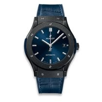 Hublot Classic Fusion Blue new 2019 Automatic Watch with original box and original papers 511.CM.7170.LR