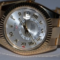 Rolex Sky-Dweller Yellow gold 42mm Silver Roman numerals United States of America, New York, Greenvale