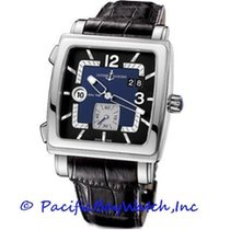 Ulysse Nardin Quadrato Dual Time Steel 42mm Blue United States of America, California, Newport Beach