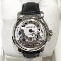 Montblanc Nicolas Rieussec Steel 43mm Silver Arabic numerals United States of America, New York, NEW YORK